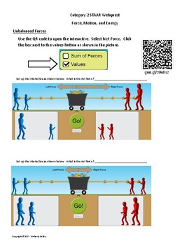 STAAR Science Category 2 Review Webquest Force, Motion & Energy Newton's Laws