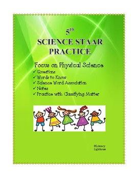STAAR Science: Deconstructing the Questions - Physical Science