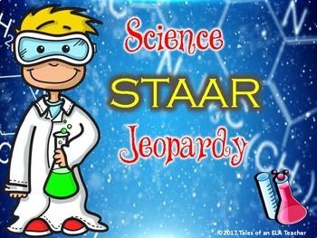 STAAR Science Jeopardy Bundle (Games 1-6)