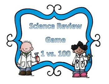 Science Test Review Game 1 vs 100