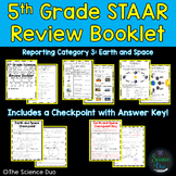 STAAR Science Review Booklet - Earth and Space - 5th Grade