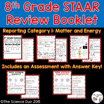 STAAR Science Review Booklet - Matter and Energy