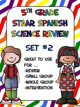 STAAR Science Review Set #2 (Repaso de STAAR Ciencias)
