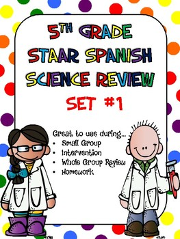 5th Grade STAAR Science Review Station Cards