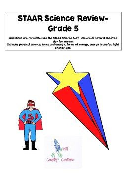 STAAR Science Review for Science Test..Grade 5