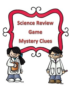 Science Test Review Mystery Clue Game