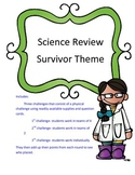 Science Test Review Game-Survivor Theme