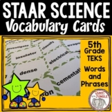 Standardized Test Science Vocabulary 5th Grade