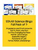 STAAR Science Vocabulary Bingo: Full Pack 5th TEKS