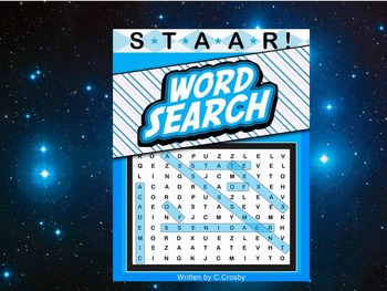 STAAR Science Vocabulary Word Search Workbook - Earth & Space