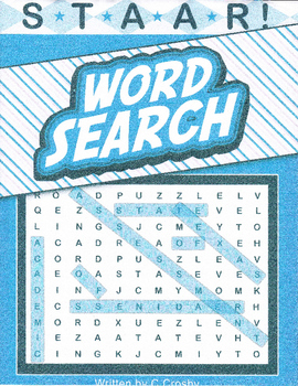 STAAR Science Vocabulary Word Search Workbook - Organisms