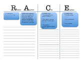 STAAR Short Answer Response and Essay Graphic Organizer