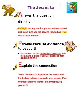 STAAR Short Answer Writing Handout