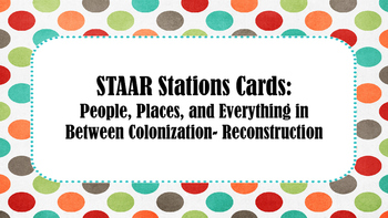 STAAR Stations #1