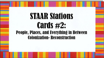 STAAR Stations #2