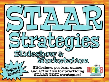 STAAR STRATEGIES Workstation - English & Spanish!