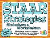 STAAR STRATEGIES Slideshow &Workstation - ENGLISH & SPANISH!!!