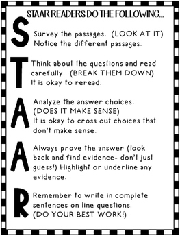 STAAR Strategies for Comparing Texts