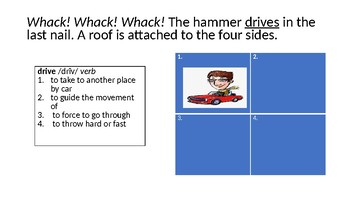 STAAR Review Strategy:  Four Corners (Multiple Meaning Words)