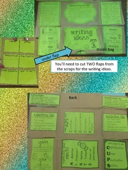 STAAR Study Bits Pack - Reading, Writing, Math Wallets