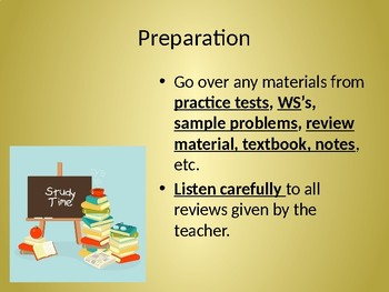 STAAR Study Skills and Test Strategy
