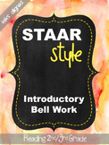 STAAR Style Fall Introductory (TEKS Aligned)