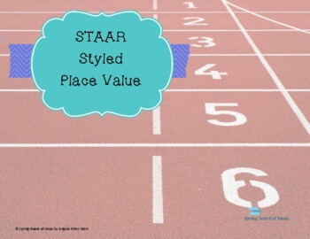 STAAR Styled Place Value and Rounding Questions