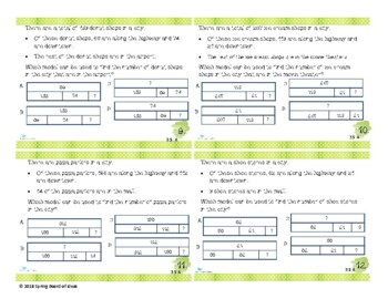 STAAR Styled Third Grade Task Cards