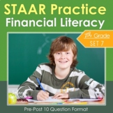 7th Grade Math STAAR {Financial Literacy Tips Interest Budget} TEKS 7.13ABCDEF