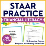 7th Grade STAAR {Financial Literacy} TEKS 7.13A 7.13B 7.13C 7.13D 7.13E 7.13F