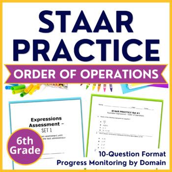 6th grade staar order of operations expressions teks 6 7a 6 7d 6 7b 6 7c. Black Bedroom Furniture Sets. Home Design Ideas