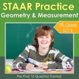 7th Grade Math STAAR Practice Set 5: Geometry and Measurement
