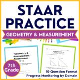 7th Grade STAAR {Geometry & Measurement} TEKS 7.5C 7.9A 7.