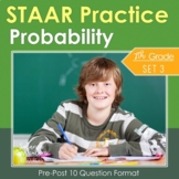 7th Grade Math STAAR Test Prep {Probability} TEKS 7.6ACDEHI