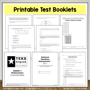 7th Grade Math STAAR Test Prep {RATIOS RATES PROPORTIONS} TEKS 7.4ABCD