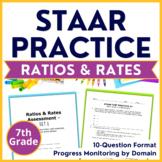 7th Grade Math STAAR Practice Ratios & Rates TEKS 7.4A 7.4B 7.4C 7.4D