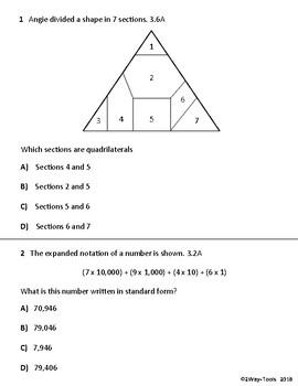 STAAR Test 3rd Grade Review