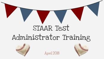 STAAR Test Administrator Training- Basic Theme- *EDITABLE*
