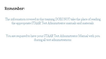 STAAR Test Administrator Training- Lego Theme- *EDITABLE*