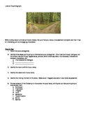STAAR Test Literary Writing Prompt #1
