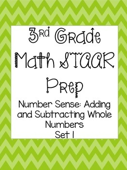 STAAR Test Prep-Addition and Subtraction