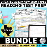 STAAR Test Prep Complete Set Grades 3-5 Bundle