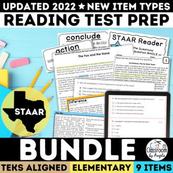 Reading staar test prep teaching resources teachers pay teachers staar test prep complete set grades 3 5 bundle fandeluxe Images