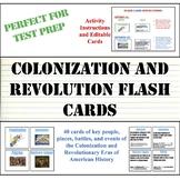 STAAR Test Prep Flashcards: Colonization and Revolutionary Eras