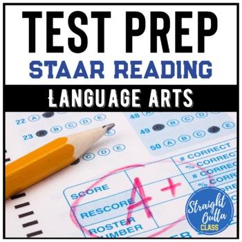 STAAR Test Prep Task Cards Set 1