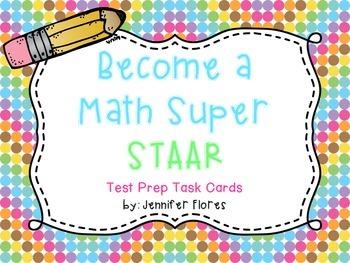 STAAR Test Prep Task Cards {TEKS Aligned}