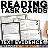 STAAR Text Evidence Task Cards