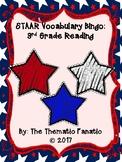 STAAR Vocabulary Bingo- 3rd Grade Reading
