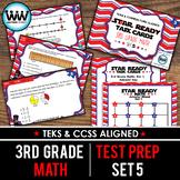 STAR READY 3rd Grade Math Task Cards ~ SET 5 {TEKS-aligned}