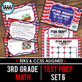 SET 6 - STAR READY 3rd Grade Math Task Cards - CCSS / STAAR / TEKS-aligned